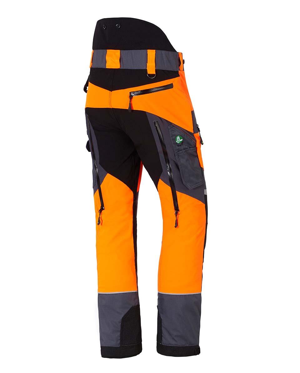 X-treme Air broek met snijbescherming oranje/grijs Bild 3