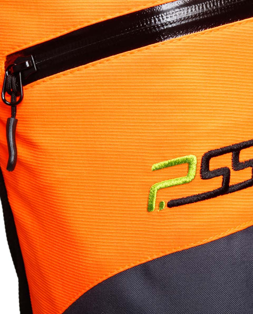 X-treme Air broek met snijbescherming oranje/grijs Bild 4