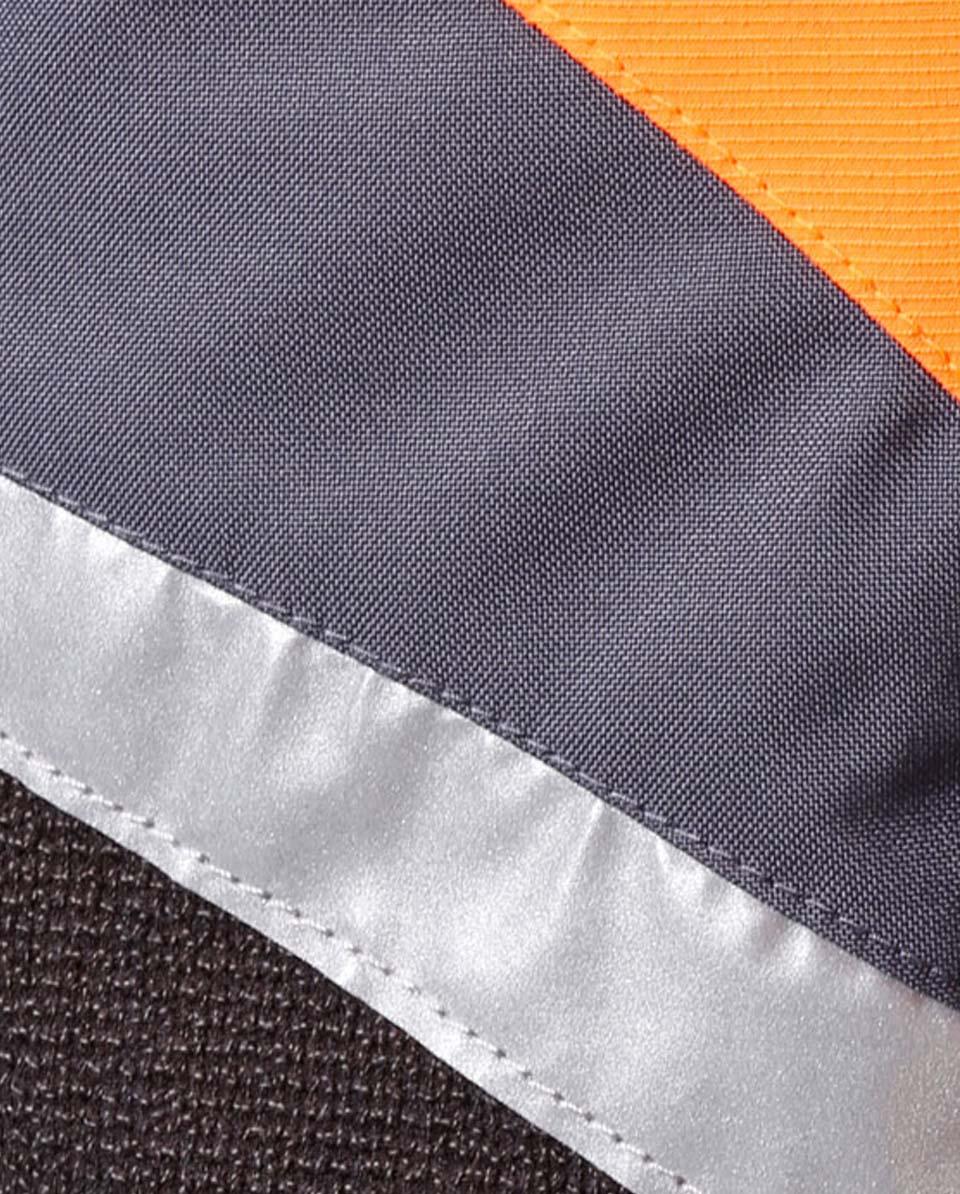 X-treme Air broek met snijbescherming oranje/grijs Bild 5