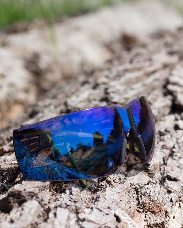 3M Veiligheidsbril SecureFit 400, blauw gespiegeld Bild 3