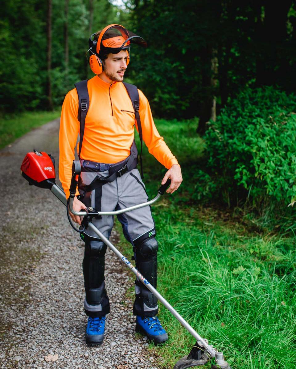 beenbeschermers voor bosmaaier Bild 3