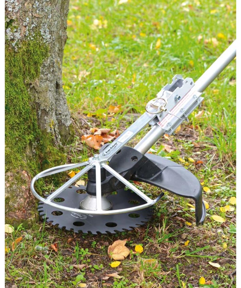 Inklapbare kant- en randbescherming, Voor bosmaaiermessen met een externe diameter tot 30,0 - 30,5 cm, XXERSK330