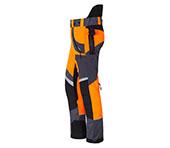 X-treme Air broek met snijbescherming oranje/grijs Bild 2