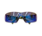 3M Veiligheidsbril SecureFit 400, blauw gespiegeld Bild 2