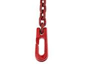 Vierkante ketting met strophaak Bild 3