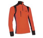 X-treme Polar functioneel shirt in oranje/grijs