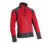 X-treme Shell - Softshell jack in rood/zwart