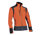 X-treme Shell - Softshell jack in oranje/grijs